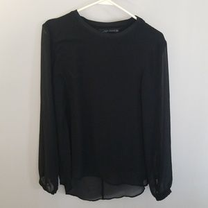 Black Zara Woman blouse